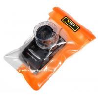 China Diving / surfing  reusable Plastic TPU waterproof camera pouch for Nikon Casio on sale