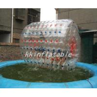 Wholesale Durable PVC Inflatable Zorb Ball Played On Sand for Amusement Park Equipment from china suppliers