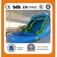 Wholesale 2014 commercial grade inflatable pool water slide from china suppliers
