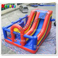 Wholesale Sport Zone slide Inflatable Gaint basketball shoot slide Inflatable slide Game KSL084 from china suppliers