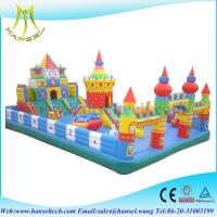Quality Hansel Hot selling Popular kids jungle inflatable amusement park for sale for sale