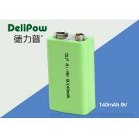 Wholesale 9V Ni-Mh Industrial Rechargeable Battery 140mAh For Power Tools  from china suppliers