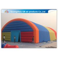 Wholesale Giant Inflatable Party Tent Inflatable Structure Multi Color , 18*10m from china suppliers