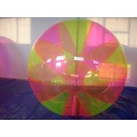 Colorful Inflatable Water Ball , Inflatable Water Bubble For Water Games