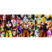 Wholesale Modern Anime Dragon Ball Wall Art 3D Posters Custom Lenticular Print For Living Room Home Bedroom from china suppliers