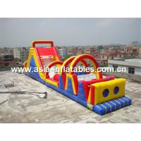 Quality 19ml Inflatable Obstacle Courses Games For Children Park Games for sale