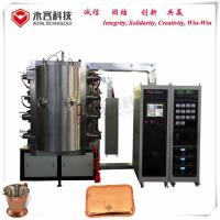 Wholesale SS Tableware Titanium Nitride Coating Machine With Magnetron Sputtering Plating System from china suppliers