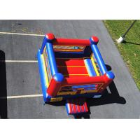 China Inflatable Bouncy Boxing Ring Arena/ Inflatable Boxing Glove Challenge For Fight on sale