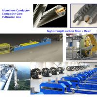Wholesale Pultrusion Machine Line for  Composite carbon fiber core of Conductor Trapezoidal Wires from china suppliers