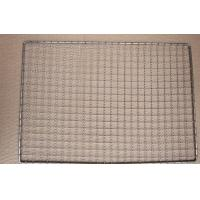 Wholesale Uniform Weave Stainless Steel Bbq Grill Mesh Round Roast Net No Static Charge from china suppliers