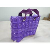 Wholesale PVC Inflatable Bubble Tote Bag Colorful Hand Inflatable Shopping Bag from china suppliers