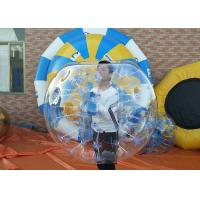 Wholesale Transparent TPU Inflatable Bubble Soccer Balls 1.2m Abrasion Resistance from china suppliers