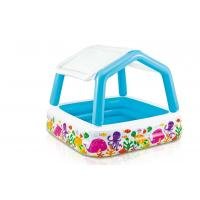 "Wholesale UV Shade Inflatable Swimming Pool PVC Child Pool 62"" X 62"" X 48"" Dimension from china suppliers"