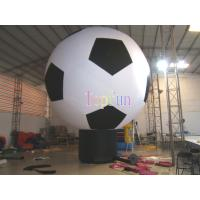 Wholesale Oxford  Inflatable Advertising Balloon 3M Diameter 5 MetersTall Soccer Shape And Style For Advertising from china suppliers