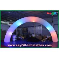 Wholesale 63cm DIA Nylon Cloth Inflatble Lighting Arch Way Gate For Decoration from china suppliers