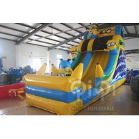 Wholesale Minion Inflatable Slide With Pool from china suppliers