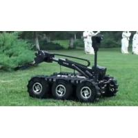 Precision Machining Bomb Disposal Robot With 140kg Loading Ability Black Color