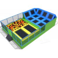 Wholesale Children Bungee Activity Indoor Trampoline Equipment Square Size Long Service Time from china suppliers