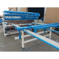 Wholesale Fully Automatic Welded Wire Mesh Machine , Panel Size 1800mm x 3000mm from china suppliers