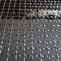 Wholesale Woven Stainless Steel 304 Double Crimped Wire Mesh Hooked Mine Sieving Screen from china suppliers