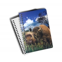 Wholesale Custom A4 A5 A6 Wolf Images 3D Lenticular Cover With PET / PP Friendly Material from china suppliers