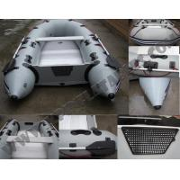 Wholesale High quality inflatable motor boat with air floor from china suppliers