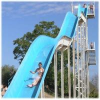 Wholesale 15m Height Freefall Slide Extreme Water Parks , Custom Fiberglass Water Park Project from china suppliers