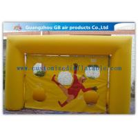 Wholesale Popular Yellow Small Inflatable Soccer Game For Football Throwing Exercise from china suppliers
