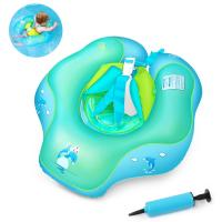 Wholesale Blue XL U Shape Inflatable Baby Swimming Ring , 2 - 6 Years Old Infant Pool Float from china suppliers