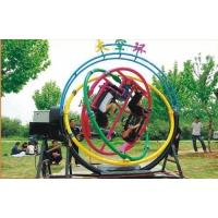 Buy cheap OEM 3D Space Ring Go Kart Amusement Park Equipment , 2 / 4 / 6 Persons from wholesalers