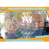 China Commercial Interesting Grow Inflatable Zorb Ball , Human Inflatable Hamster Ball For Pool on sale