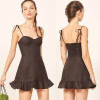 Wholesale High Quality Linen Dress Clothing Brands Women Ladies from china suppliers