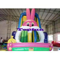 China Big White Rabbit Inflatable Water Slide on sale