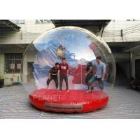 Quality Customized Giant Human Size Inflatable Snow Globe With Blower , Air Pump for sale