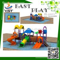 Wholesale Outside Water Park Playground Equipment , Kids Water Park Equipment from china suppliers