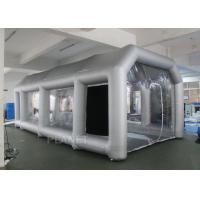 Wholesale Outdoor Inflatable Spray Booth With Two Blowers Removeable Filter from china suppliers