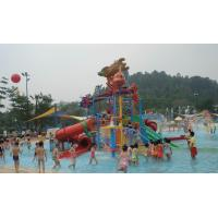 Wholesale Hot - Dip Galvanized Kids' Water Playground , Water Park Equipment With Body Slide from china suppliers