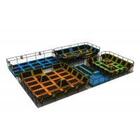 China Indoor Fitness Foam Kids Trampoline Park on sale