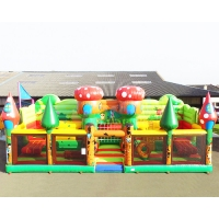 Wholesale SGS Inflatable Amusement Park Castle Commercial Combo Bounce House from china suppliers