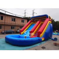 China Lead free backyard kids inflatable water slide with pool from Sino Inflatables on sale