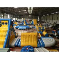 China Giant Inflatable Water Parks , Inflatable Aqua Park Equipment  For Adults And Kids on sale
