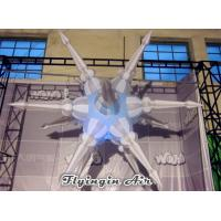 Wholesale Customized Inflatable Light Star Inflatable UFO for Exhibitions and Festivals from china suppliers