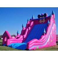 China Inflatable Amusement Park With Big Inflatable Slide For Adult / Kids on sale