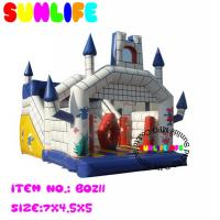 Wholesale Amusement Park Jumping Castle Inflatable Bouncy Slide For Children from china suppliers