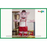 Wholesale Custom Standing Colorful Inflatable Pig Inflatable Cartoon Chracter from china suppliers