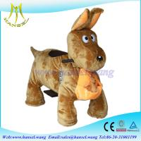 Wholesale Hansel high qulity battery operated plush motorized animals for mall from china suppliers