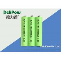 Quality 1.0v~1.2V AAA NIMH Rechargeable Battery With UL / CE / ROHS Certificate for sale