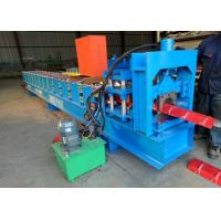 Wholesale Colored Glaze Steel Ridge Cap Forming Machine Aluminum 15 Rows Stand from china suppliers