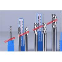 Wholesale Standard Length Type 2 Flute Aluminum End Mill For Aluminum Bright Finish No Coating from china suppliers