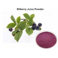 Wholesale No Foreign Pigments Bilberry Fruit Powder, Organic Bilberry Juice Powder Anti - Oxidant from china suppliers